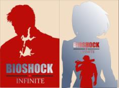 Bioshock Infinite Elizabeth Poster Free CDR Vectors Art
