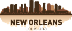 New Orleans Skyline Free CDR Vectors Art
