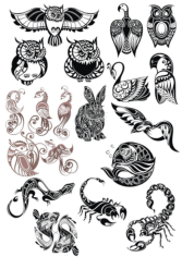 Original Animals Vector Pack Free CDR Vectors Art