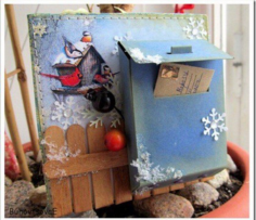 New Year's box 6mm Free CDR Vectors Art