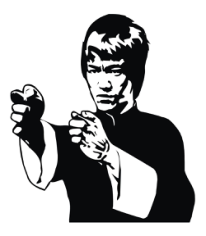 Bruce Lee Free CDR Vectors Art