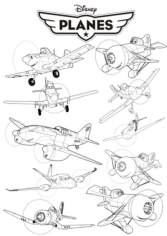 Disney Planes Free CDR Vectors Art