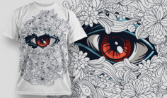 Designious T-shirt Design 539 Free CDR Vectors Art