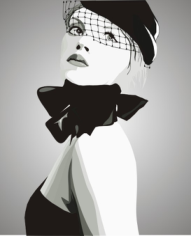 Fashion Girl Free CDR Vectors Art