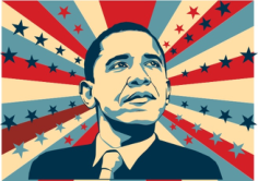 Barack Obama Free CDR Vectors Art