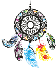 Dreamcatcher Color Free CDR Vectors Art