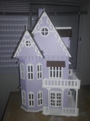 Lasercut Wooden House Free CDR Vectors Art