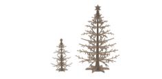 Wooden Jewellery Stand Tree Display Organizer Free CDR Vectors Art