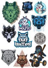 Wolf Vector Set Free CDR Vectors Art