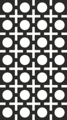 Seamless Square Circle Pattern Vector Free CDR Vectors Art
