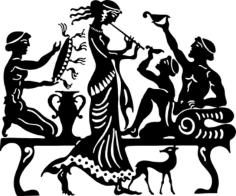 Ancient Greek Free CDR Vectors Art