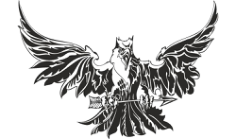 Eagle Attacking Tattoo Design Free CDR Vectors Art