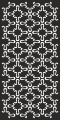 Simple Abstract Black And White Pattern Free CDR Vectors Art