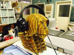 Head of the Monkey 3D Puzzle Free CDR Vectors Art