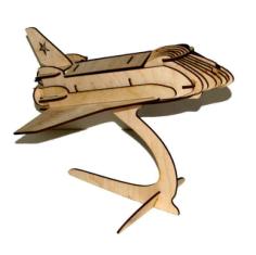 Shuttle 3D Puzzle Free CDR Vectors Art
