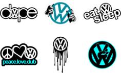 Volkswagen Logo Free CDR Vectors Art