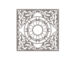 Geometric Mandala Free CDR Vectors Art