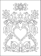 Love Illustration Floral Heart Flowers Birds Free CDR Vectors Art