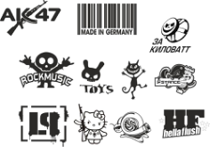 Custom Sticker Vector Pack Free CDR Vectors Art