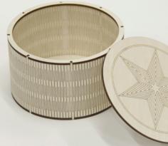 Laser Cut Box with Lid Free CDR Vectors Art