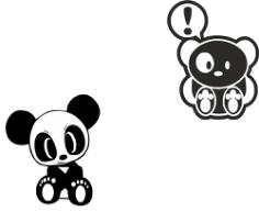 JDM Team Panda Sticker Free CDR Vectors Art