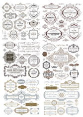 Vintage Collection Free CDR Vectors Art