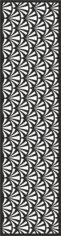Quartet Continuous Pattern Design Free CDR Vectors Art