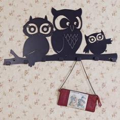 Owls Hanger Free CDR Vectors Art