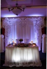 Wedding Settee Back Decorations Free CDR Vectors Art