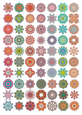 Vector Decorative Mandala Ornaments Free CDR Vectors Art