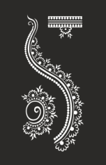 Henna design Free CDR Vectors Art