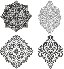 Decor Vector Set Free CDR Vectors Art