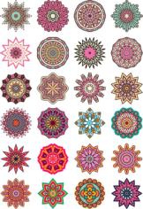 Mandala Floral Free CDR Vectors Art