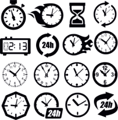 Clock Cdr Maket Dlya Lazernoy Rezki Free CDR Vectors Art