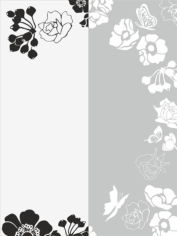 Flower Sandblast Pattern Free CDR Vectors Art