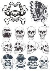 Skull Vectors Collection Free CDR Vectors Art