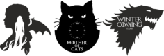 Mother Of Cats Free CDR Vectors Art