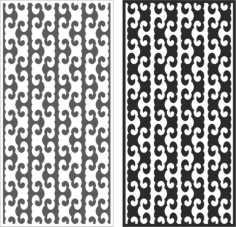 Engraving vector pattern Free CDR Vectors Art