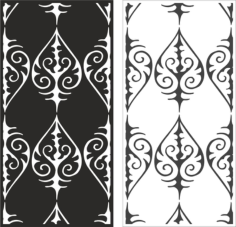 Damask Seamless Pattern Free CDR Vectors Art