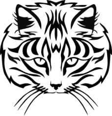 Muzzle Cat Free CDR Vectors Art