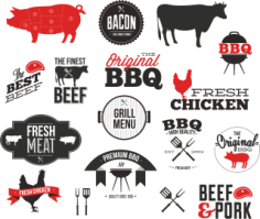BBQ Vector Set 2 Free CDR Vectors Art