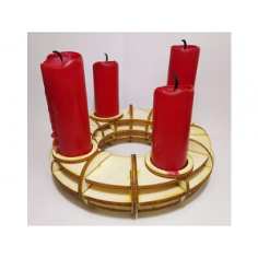 Candlestick Holder Laser Cut Free CDR Vectors Art