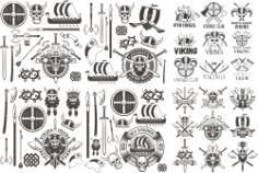 Viking Vector Set Free CDR Vectors Art