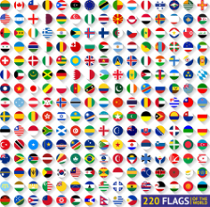 World Flags Free CDR Vectors Art