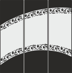 Decorative Frosted Glass Pattern Free CDR Vectors Art