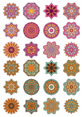 Mandala Ornaments Circles Free CDR Vectors Art