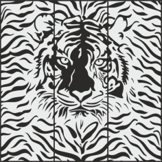 Cheetah Sandblasting pattern Free CDR Vectors Art