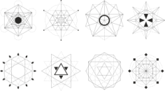 Sacred Geometric Set Free CDR Vectors Art
