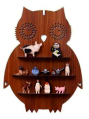 Owl Shelf Laser Cut CNC Plans Free CDR Vectors Art