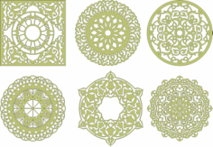 Decorative Mandala Free CDR Vectors Art